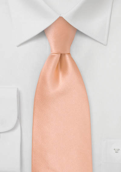 95283ac282c2 Solid Light Coral Peach Necktie | Bows-N-Ties.com
