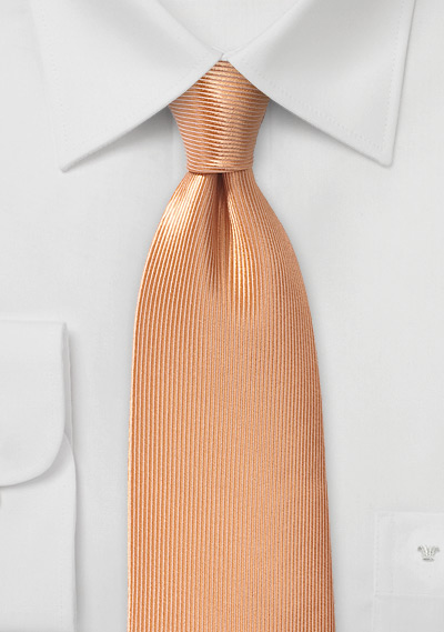 Corduroy Silk Tie in Caramel Cream