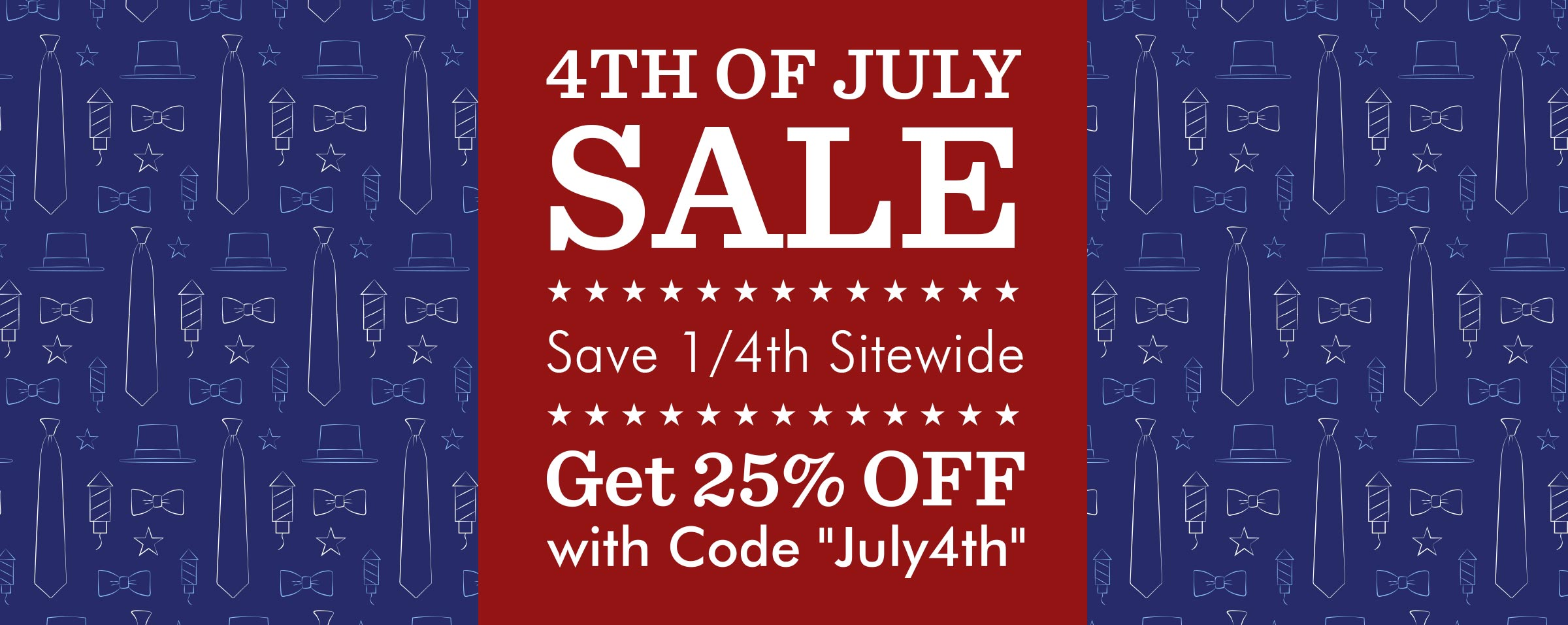 4th of July Sale 2018