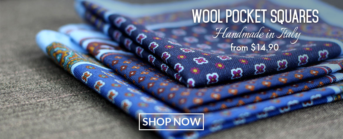 Wool Pocket Squares