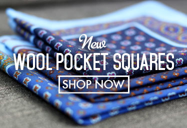 Wool Pocket Squares - Mobile