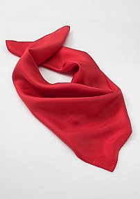 Solid Color Scarf in Bright Red