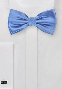 Solid Mens Bow Tie in Royal Blue