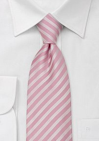 Rose and Pink Striped Tie