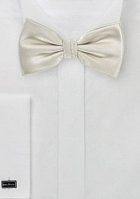 Kids and Toddler Bow Tie in Ivory