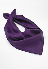 Solid Bright Purple Neck Scarf