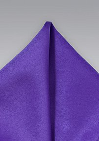 Subdued Solid Purple Pocket Square