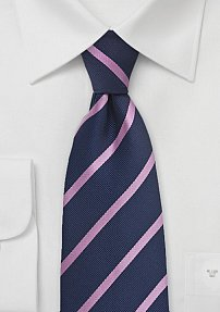 Trendy Regimental in Aubergine and Pink