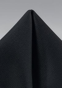 Microtexture Hanky in Matte Black