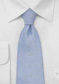 Extra Long Men's Tie in Sky Blue
