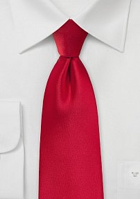 Solid Colored Tie in Classy Cherry