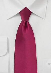 Raspberry Colored Neck Tie