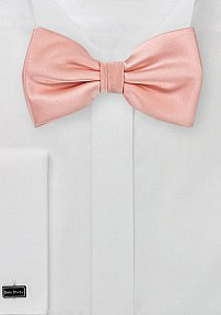 Bright Candy Pink Bow TIe