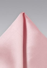 Candy Pink Colored Pocket Square