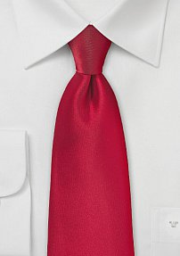 Solid Necktie in Valentine Color