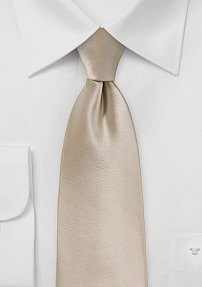 Extra Long Antique Blush Colored Necktie