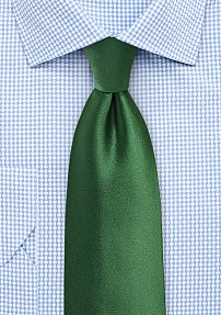 Solid XL Tie in Artichoke