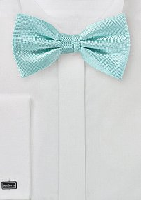 Microtexture Bowtie in Pool Blue