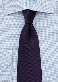 Majesty Purple Woven Mens Tie