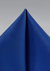 Microtexture Hanky in Marine Blue