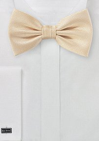 Microtexture Bowtie in Peach Apricot