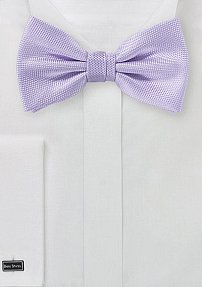 Microtexture Bow Tie in Sweet Lavender
