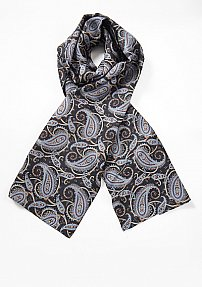 Silk Paisley Scarf for Men
