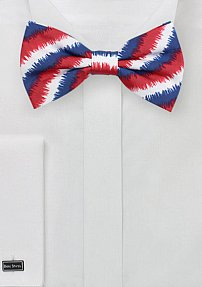 Trendy 4th of July Bow Tie in Cotton