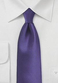 Bright Violet Purple Color Necktie