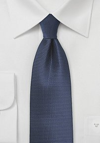 Elegant Mens Tie in Eclipse Blue