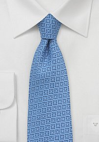 Trendy Wool Tie in Dusk Blue