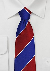 Striped Silk Tie for Beta Theta Pi