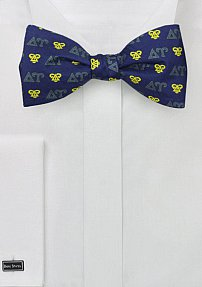 Freestyle Delta Upsilon Silk Bow Tie