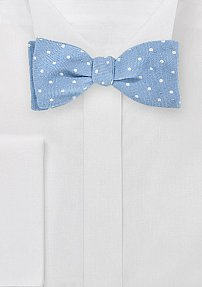Casual Heritage Style Bowtie with Polka Dots