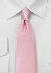 Tea Rose Pink Colored Necktie