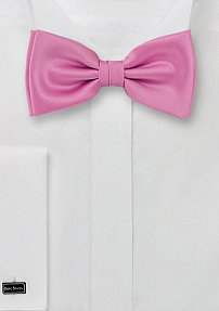 Bow Tie in Solid Pink