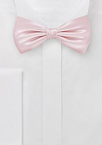 Mens Bow Tie in Antique Blush Pink
