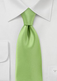 Stunning Lime Green Tie