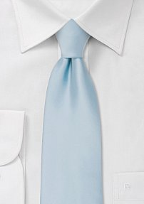 Designer Necktie in Morning Sky Blue