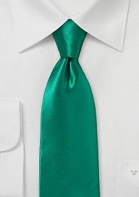 Striking 100% Silk Jade Tie in a Modern Cut