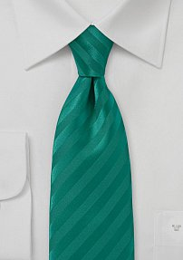 Lagoon Colored Narrow Neck Tie