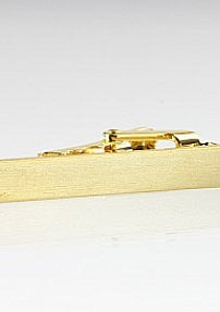Brass Colored Tie Bar in 1.5 Inch