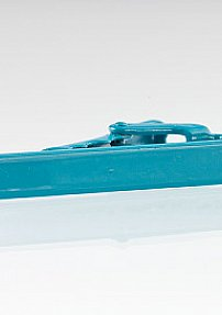 Narrow Tie Bar in Turquoise Color