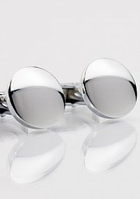 Minimalistic Circle Shaped Cufflinks