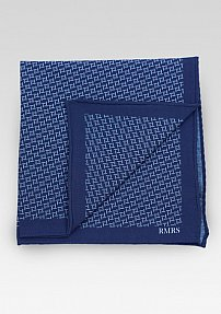 RMRS Limited Edition Cotton Print Pocket Square