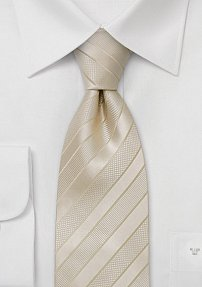 Mens Wedding Tie in Extra Long