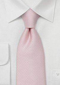 XL Tie in Cherry Blossom Pink