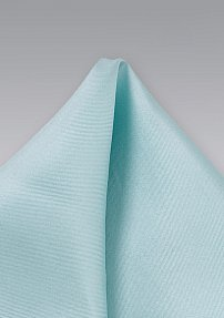 Silk Pocket Square in Light Mint