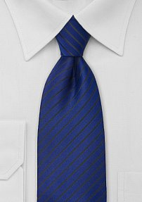 Mens Tie in Egyptian Blue