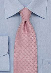 Designer Necktie in Rose-Pink